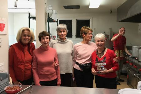 cooking at the th shelter dec.8 2017